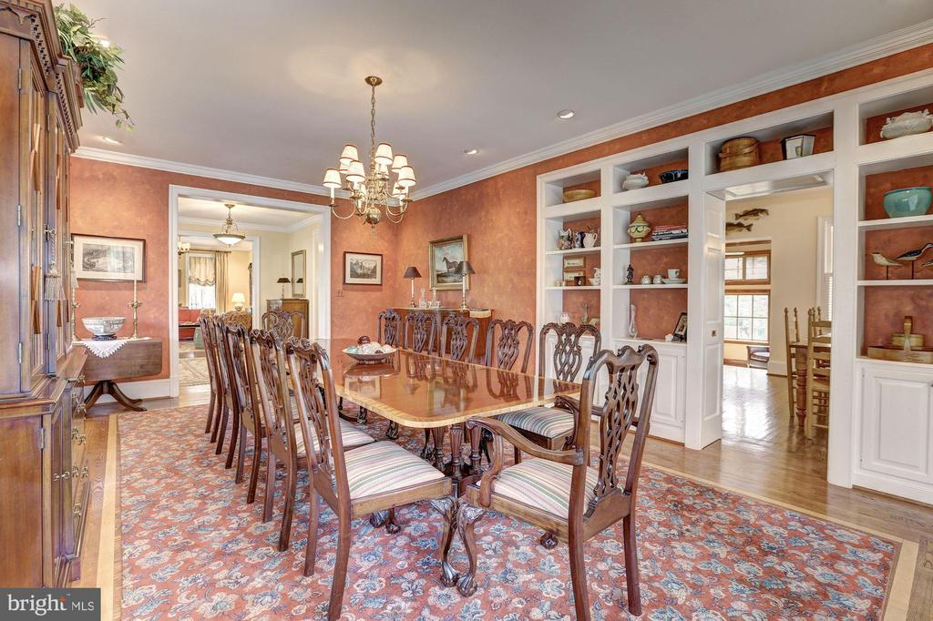 Dining Room - 7116 FAIRFAX RD, BETHESDA