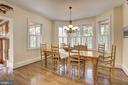 Breakfast Room - 7116 FAIRFAX RD, BETHESDA