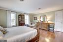 Master Bedroom - 7116 FAIRFAX RD, BETHESDA