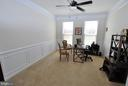1st Floor Study / Den with Upgraded Trim - 24436 PERMIAN CIR, ALDIE