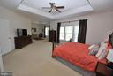 Master Suite with Sitting Room and Tray Ceilings - 24436 PERMIAN CIR, ALDIE