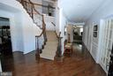Hardwood Grand Foyer with Upgraded Staircase - 24436 PERMIAN CIR, ALDIE