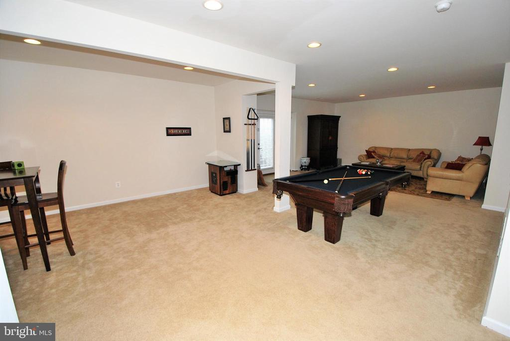 Finished basement with Double wide walk-out stairs - 24436 PERMIAN CIR, ALDIE