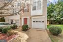 End unit townhome w/bumpouts increase living space - 10019 GANDER CT, FREDERICKSBURG