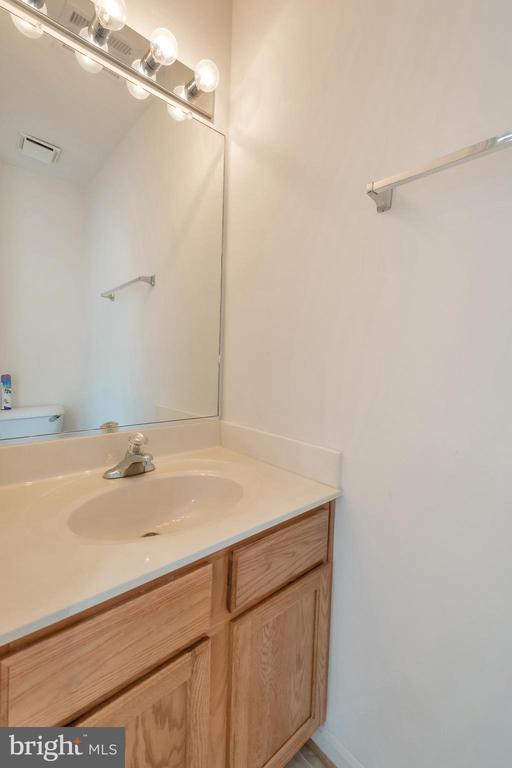 Lower level half bath - 10019 GANDER CT, FREDERICKSBURG