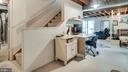 Lower level w large laundry, storage & rec room - 6109 GLEN OAKS CT, SPRINGFIELD
