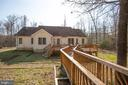 Walkway off deck to  wooded fenced area - 7407 BARRISTER CT, SPOTSYLVANIA
