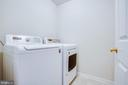 Separate laundry room - 7407 BARRISTER CT, SPOTSYLVANIA