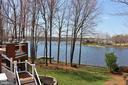 Amazing views of the lake from the wraparound deck - 11308 STONEWALL JACKSON DR, SPOTSYLVANIA