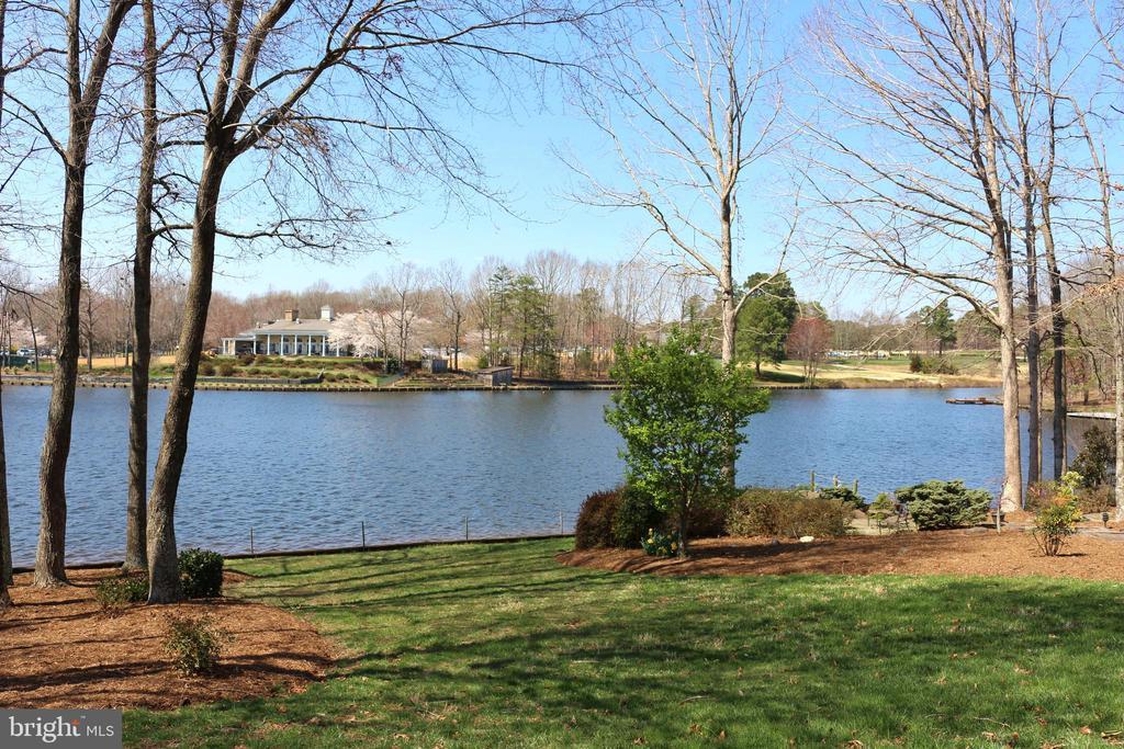 View of the Fawn Lake Harbor Club from backyard - 11308 STONEWALL JACKSON DR, SPOTSYLVANIA