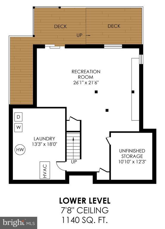 Lower Level Floorplan - 6109 GLEN OAKS CT, SPRINGFIELD
