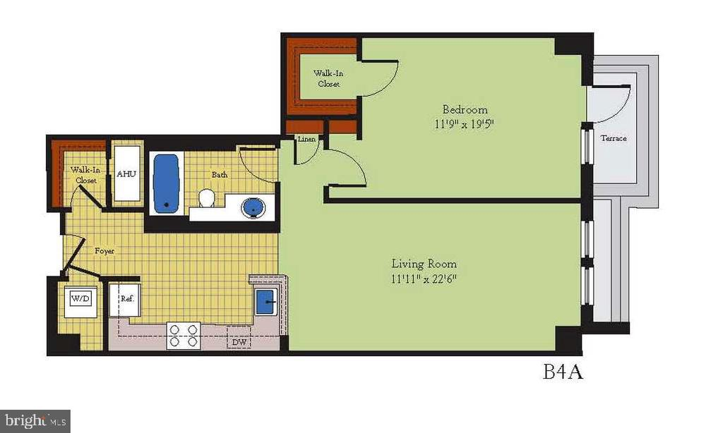 #316 Floor Plan - 915 E ST NW #316, WASHINGTON