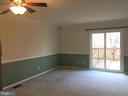 Living room/Dining room combo - 44011 FALMOUTH CT, ASHBURN