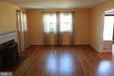 Living room - hardwood floors - 9005 CHERRYTREE DR, ALEXANDRIA
