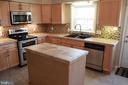 Kitchen - 9005 CHERRYTREE DR, ALEXANDRIA