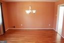 Dining Room - 9005 CHERRYTREE DR, ALEXANDRIA