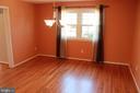 Dining Room - hardwood floors - 9005 CHERRYTREE DR, ALEXANDRIA