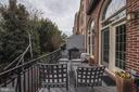 Balcony Overlooking the Park - 2131 N SCOTT ST, ARLINGTON
