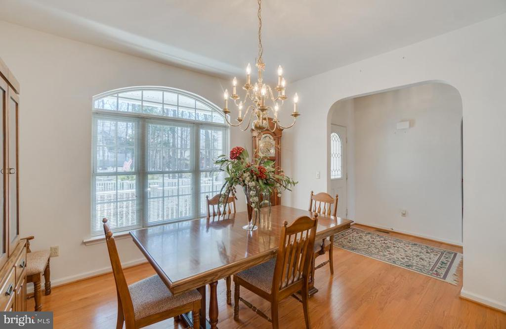 separate dining open to foyer & living room - 126 YORKTOWN BLVD, LOCUST GROVE