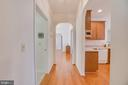 back hallway - 126 YORKTOWN BLVD, LOCUST GROVE