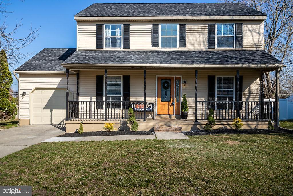 Частный односемейный дом для того Продажа на 8 DERRY Drive Willingboro Township, Нью-Джерси 08046 Соединенные Штаты