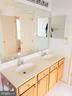 Master Bathroom with Double Vanities - 651 MCLEARY SQ SE, LEESBURG