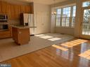Kitchen with Brand New Stainless Steel Appliances - 651 MCLEARY SQ SE, LEESBURG