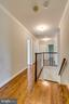 Upper Level Hallway & Staircase - 8619 GEORGETOWN PIKE, MCLEAN