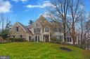Upgraded Elevation (Stone and Siding Exterior) - 8260 ROSELAND DR, FAIRFAX STATION