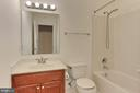 Full Bathroom #4 (on basement floor) - 8260 ROSELAND DR, FAIRFAX STATION