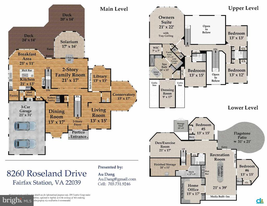 Home Blueprint - 8260 ROSELAND DR, FAIRFAX STATION