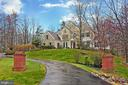 Driveway leading to home - 8260 ROSELAND DR, FAIRFAX STATION