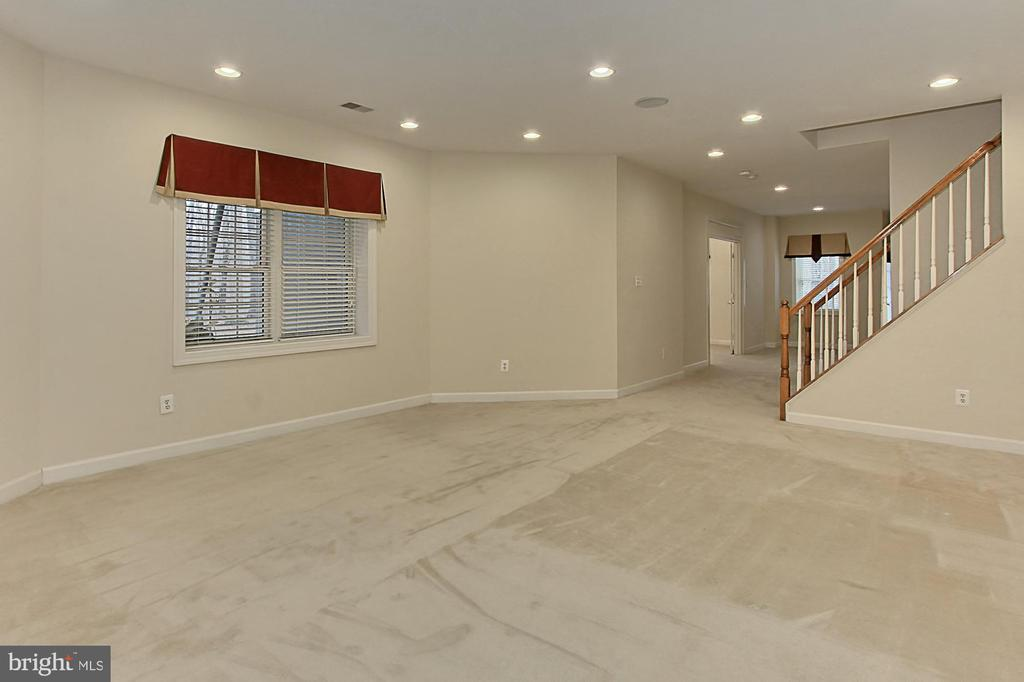 Fully-Finished Basement Rec Room - 8260 ROSELAND DR, FAIRFAX STATION
