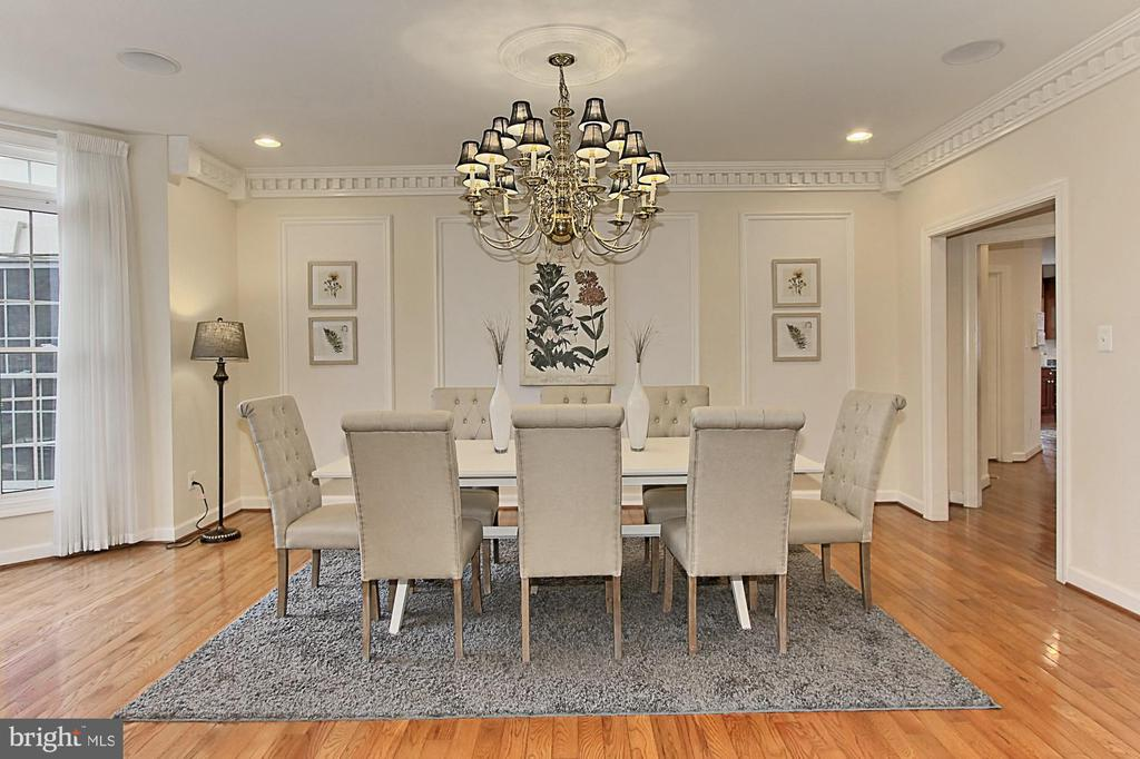 Formal Dining Room - 8260 ROSELAND DR, FAIRFAX STATION