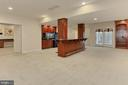 Walk-Out Basement to Backyard Patio - 8260 ROSELAND DR, FAIRFAX STATION