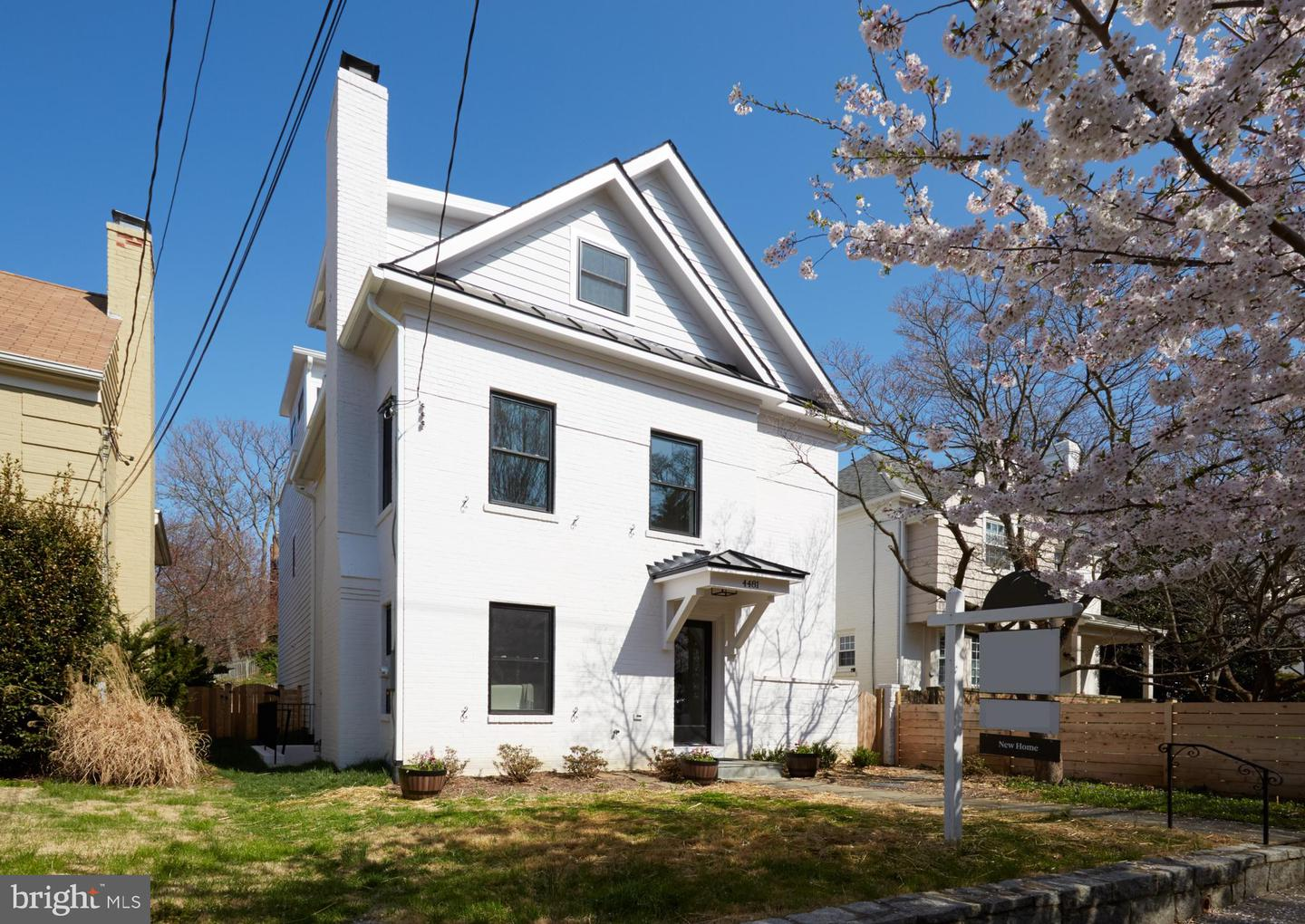Single Family for Sale at 4481 Q St NW Washington, District Of Columbia 20007 United States