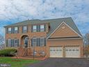 Front view brick - 5312 MAPLE VALLEY CT, CENTREVILLE