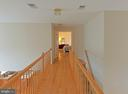 Upper hall looking towards Master bedroom - 5312 MAPLE VALLEY CT, CENTREVILLE
