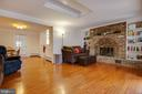 Origional, custom fireplace w/ built-ins - 30-40 VINCENT LN, STAFFORD