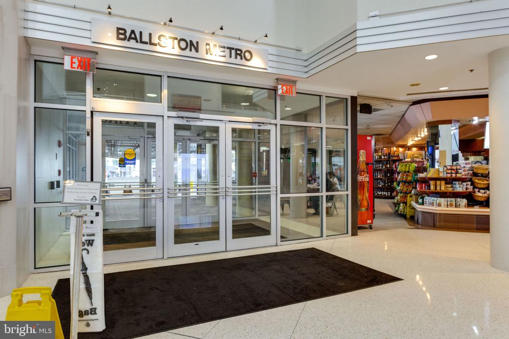 Connecting Atrium, Inside Access to Ballston Metro - 900 N STAFFORD ST N #1608, ARLINGTON