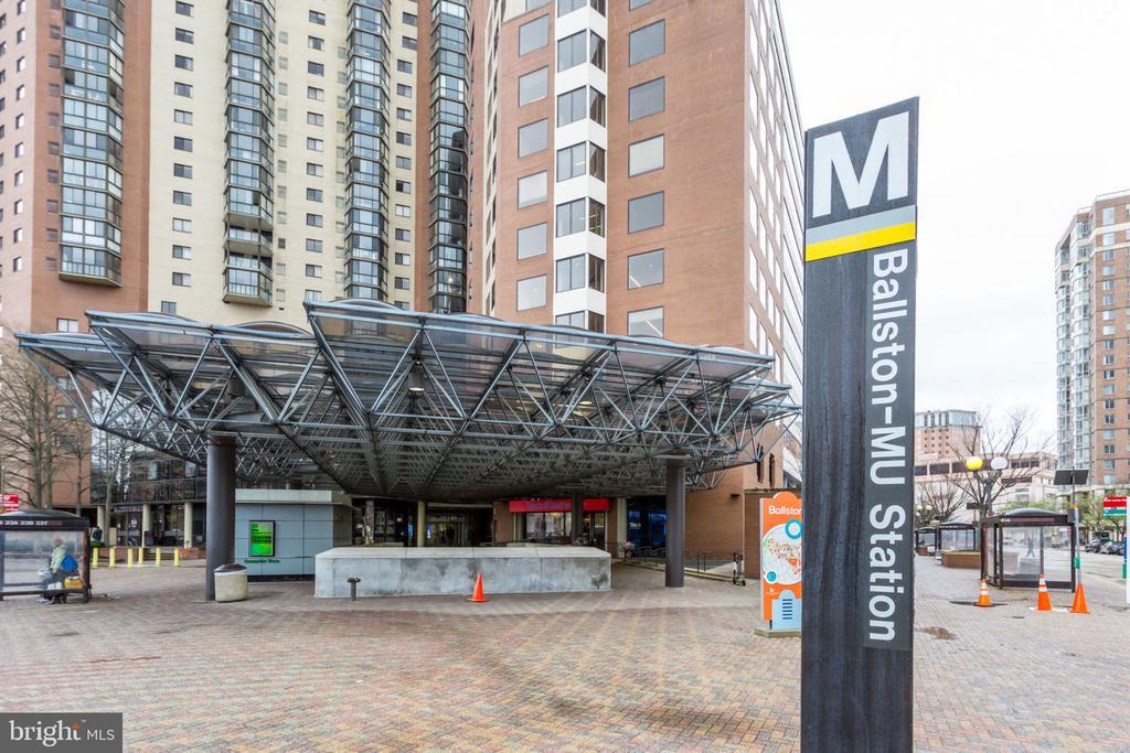 Directly above Ballston Metro Station! - 900 N STAFFORD ST N #1608, ARLINGTON
