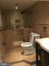 Full bath in basement - 6425 GREENLEAF ST, SPRINGFIELD