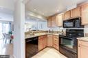 Kitchen with Granite Counters - 11921 REDTREE WAY, RESTON