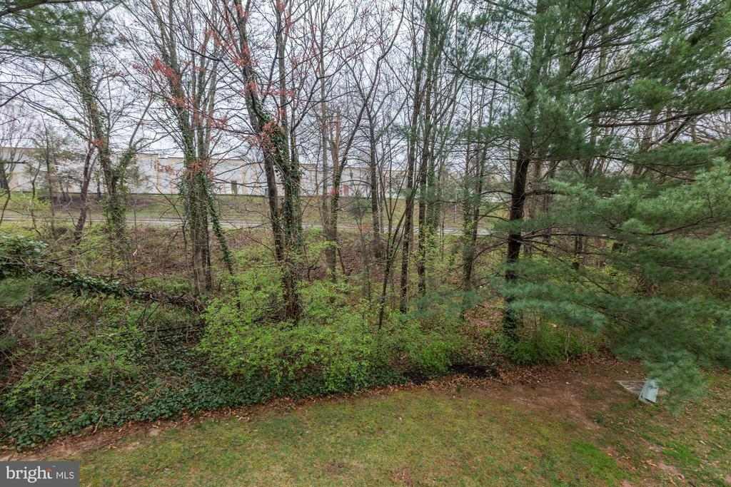 View from Deck - 11921 REDTREE WAY, RESTON