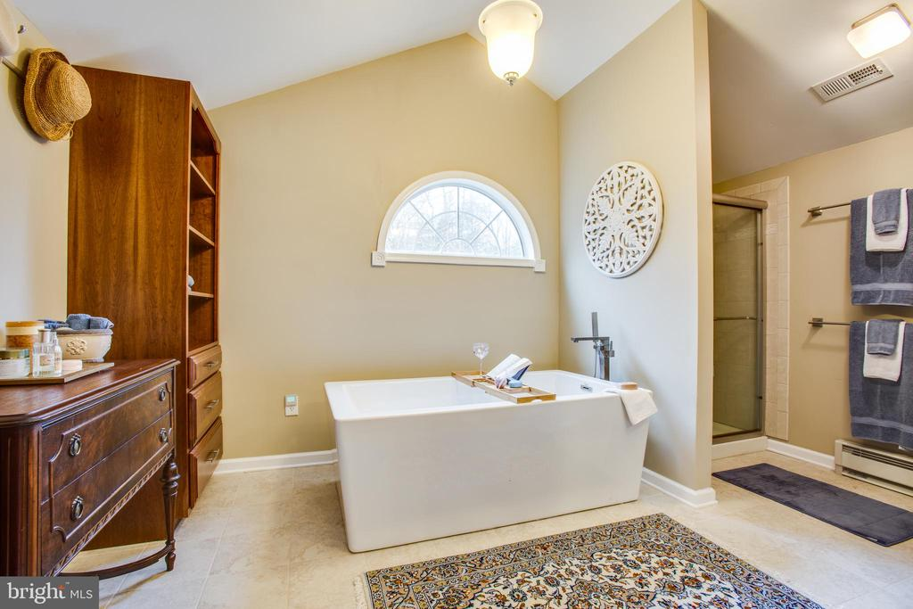 Master bath separate tub - 8202 WATERFORD DR, SPOTSYLVANIA