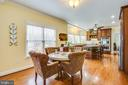 Eat in kitchen area - 8202 WATERFORD DR, SPOTSYLVANIA