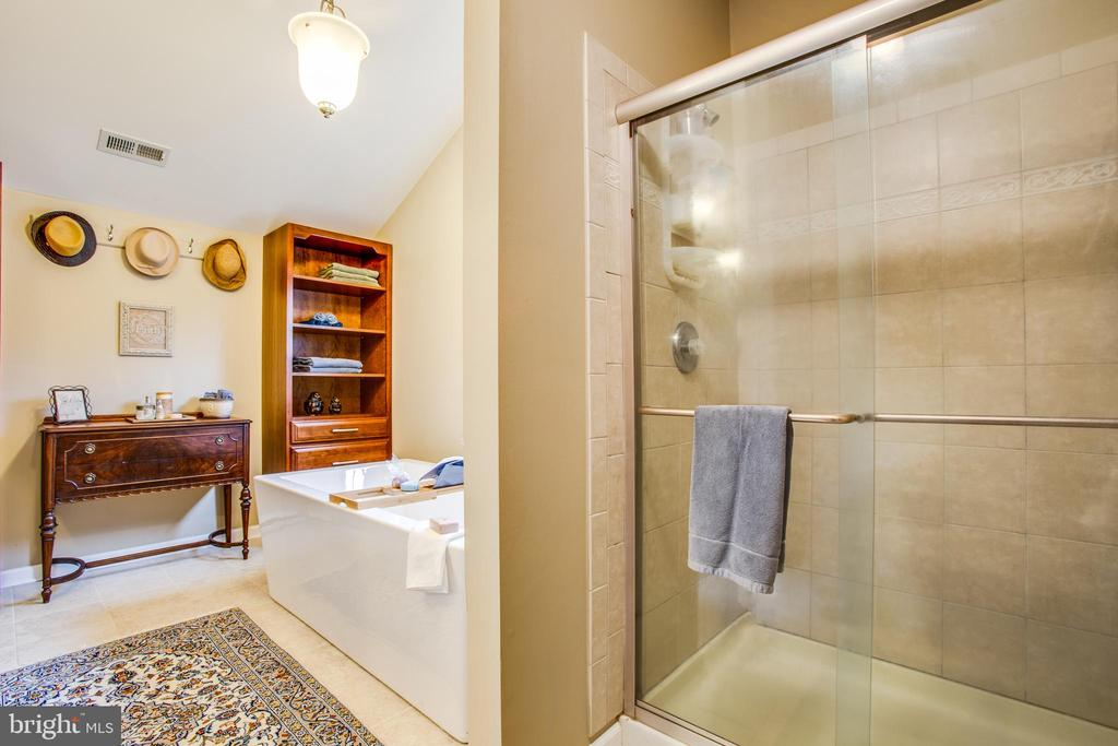 Masterbath separate shower - 8202 WATERFORD DR, SPOTSYLVANIA