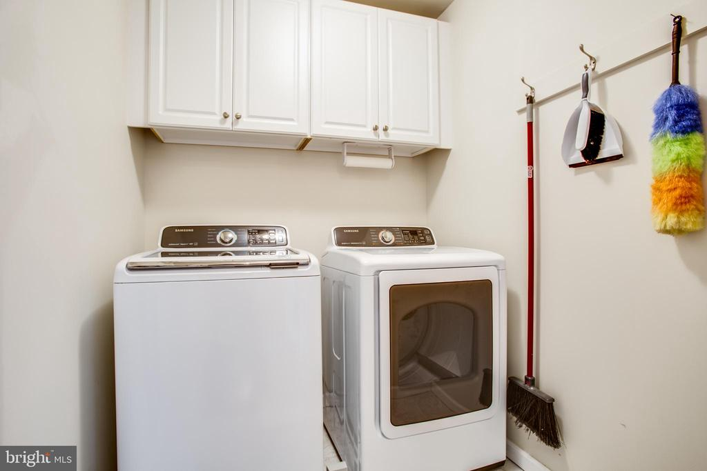 Second level laundry room hook up - 8202 WATERFORD DR, SPOTSYLVANIA