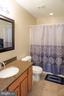 Hallway bath upper level - 10212 NAPOLEON ST, FREDERICKSBURG