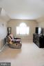 Master bedroom sitting area - 10212 NAPOLEON ST, FREDERICKSBURG